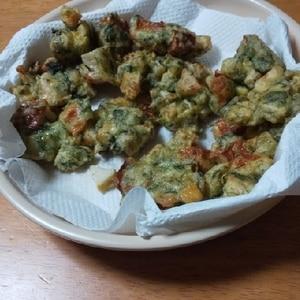 タケノコとちくわの天ぷら