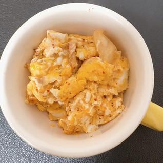 キムチと卵
