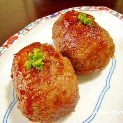 簡単!焼き肉のタレde肉巻きおにぎり