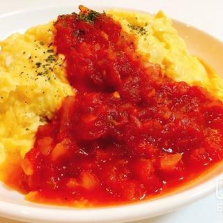 トマト缶で簡単!本格ふわとろオムライス