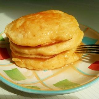 簡単しっとりヨーグルトパンケーキ♪