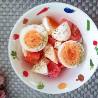 がっつり♩ゆで卵のサラダ