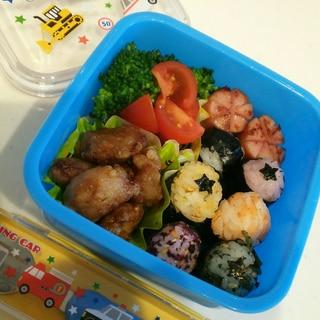 2歳児!一人で食べられる!一口弁当
