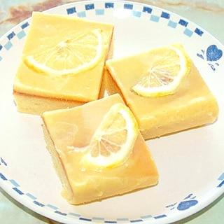 レモンの大量消費に!レモンカードのバターケーキ♪