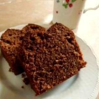HMと板チョコでつくるチョコパウンドケーキ