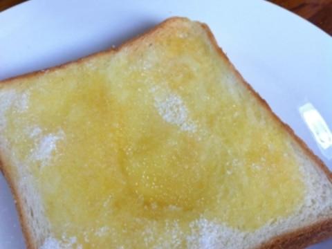 甘い♪シュガーバタートースト