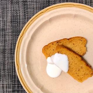 バター無し!簡単きな粉パウンドケーキ!