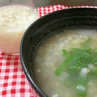 蕎麦の実粥
