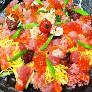 彩りちらし寿司‼️お祝いの食卓も華やかに…