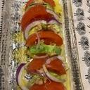 トマトとアボカド、胡桃のサラダ