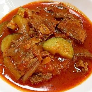 牛肩ロース肉で、絶品トマト煮込み【コストコ】