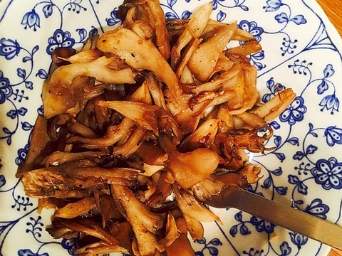舞茸のシンプル炒め