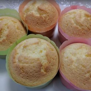 米粉で作るしっとりバターカップマフィン