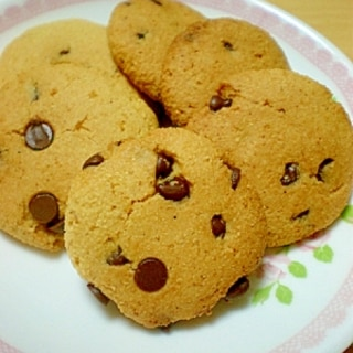 ●●米粉とおからのチョコチップクッキー●●