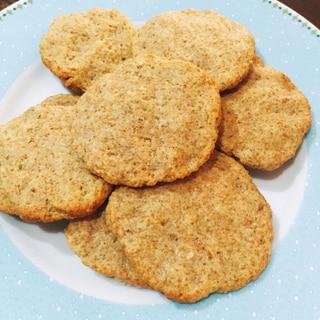 ノンオイル クリームチーズのクッキー