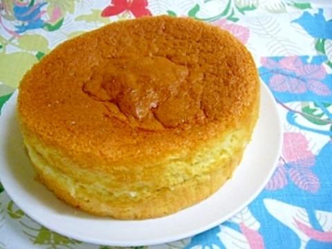 15cmのスポンジケーキ
