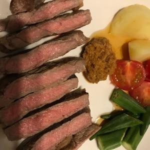 ステーキの焼き方/ミディアム☆ 「ヒレステーキ」