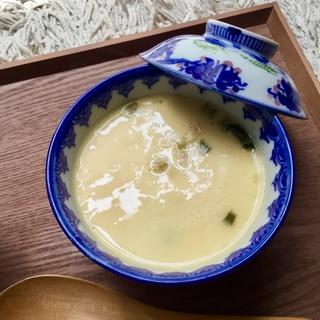 超簡単インスタントスープの素で作る茶碗蒸し
