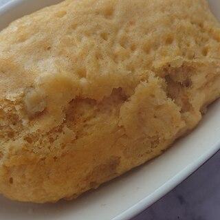 バナナとかぼちゃレモンの蒸しパン