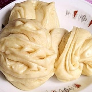 中華風蒸しパン★基本の花巻(ver.2)