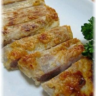 豚ロース肉の塩麹漬け焼きとんかつ