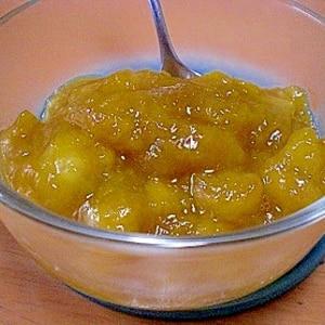 冷凍マンゴーを使って!「マンゴージャム」  ♪♪