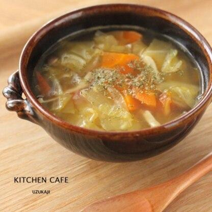 フレッシュトマトの野菜スープ
