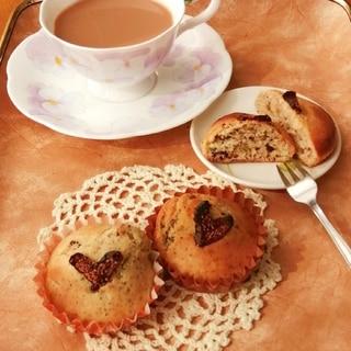紅茶とドライいちじくのケーキ♡HM♡トースター焼き