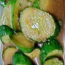 きゅうりの甘味噌漬物