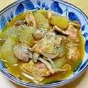 鶏肉と大根のカレースープ煮