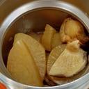 ホタテと大根の煮物