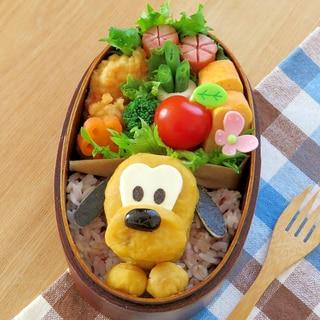 簡単キャラ弁☆サツマイモDEプルートのお弁当♪