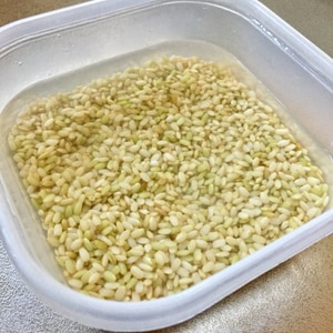 ☆発芽玄米の作り方☆