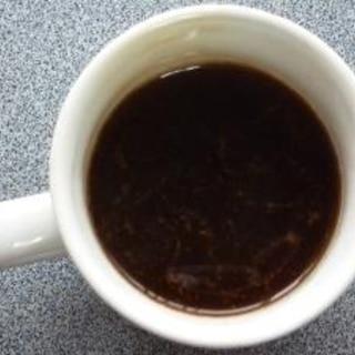 コーヒーにチョコ入れちゃいました。