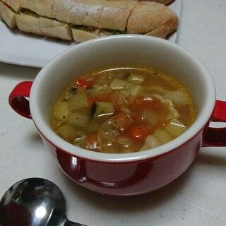 具だくさん 野菜スープ