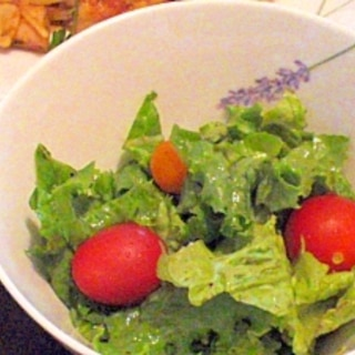 手づくりフルーツ酢で簡単!サラダドレッシング