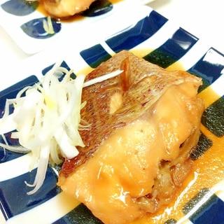 簡単(^^)ご飯が進む鯛の煮付けwith白髪ネギ♪