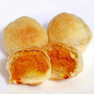 かぼちゃの一口パイ☆冷凍パイシートでお手軽に