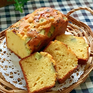 ほっこり♡さつま芋のパウンドケーキ