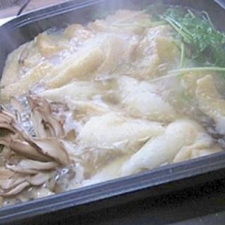 我が家のきりたんぽ鍋つゆレシピ♪