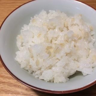 便秘解消レシピもち麦ご飯