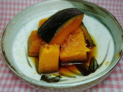 めんつゆとみりんだけで♪かぼちゃの煮物