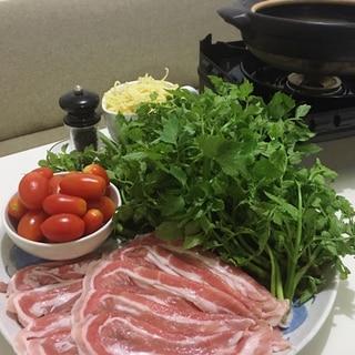 セリ豚しゃぶ鍋