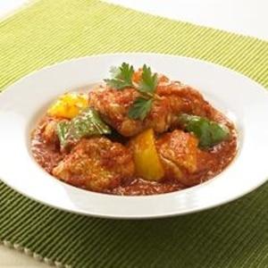 10分で簡単!鶏肉のトマト煮