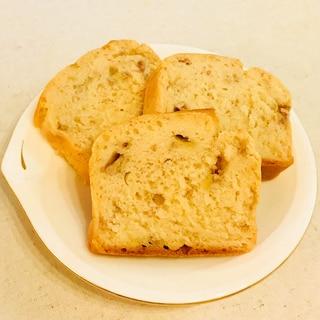 米粉バナナパウンドケーキ(グルテンフリー&低フォド