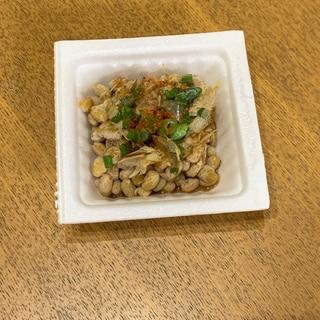 一味ねぎ鰹節納豆
