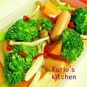 ウィンナーと野菜のマリネ