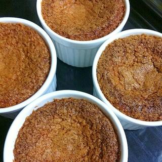 ノンバターフィナンシェ風カップケーキ。