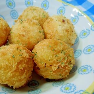 チーズ入り☆コロコロポテトコロッケ