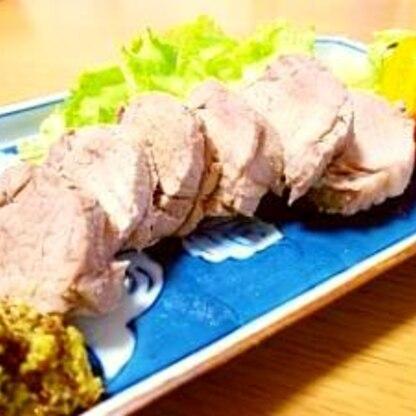 豚ヒレ肉のボイル